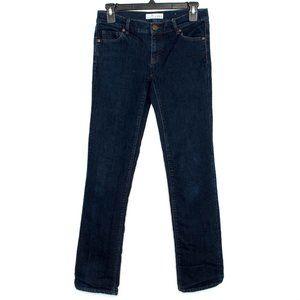 Ann Taylor Loft Womens Jeans Skinny Dark 24 E2